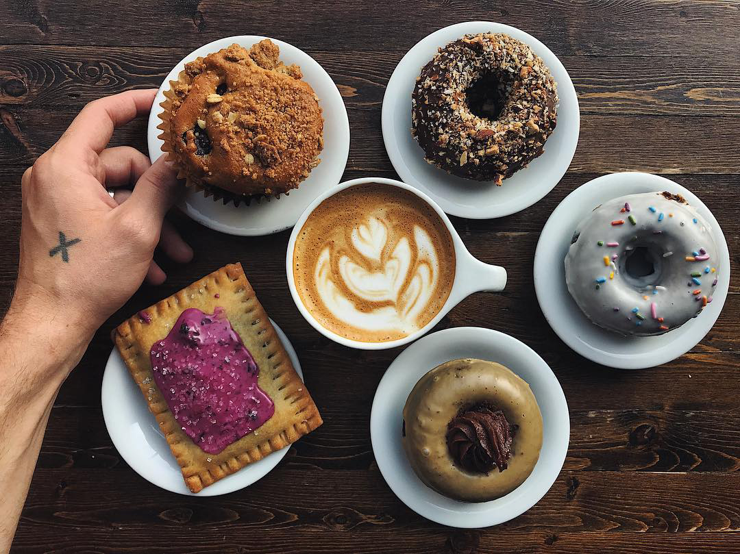 Delicious Donuts & Coffee